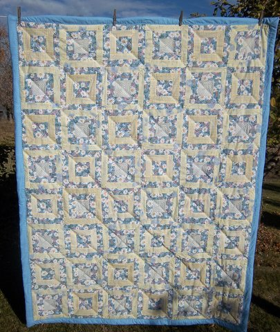 Blue-Yellow Charity Quilt2