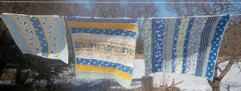 Project Linus Quilts2 2012
