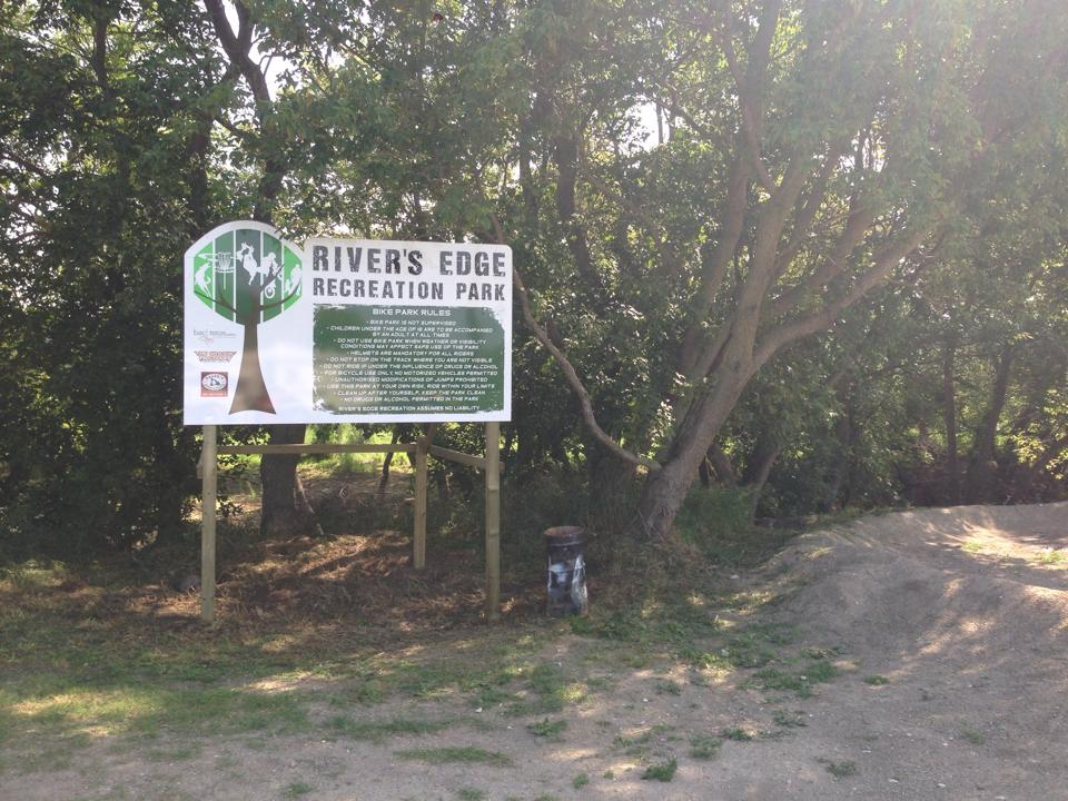 Rivers edge Bike park 1